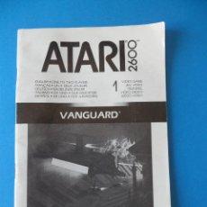 Videojuegos y Consolas: LIBRITO MANUAL DEL VIDEOJUEGO VANGUARD - ATARI 2600. Lote 91759025
