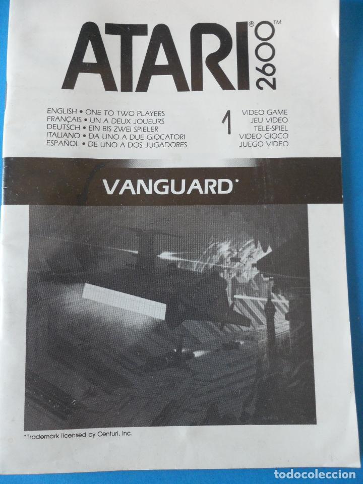 Videojuegos y Consolas: LIbrito Manual del Videojuego Vanguard - Atari 2600 - Foto 2 - 91759025