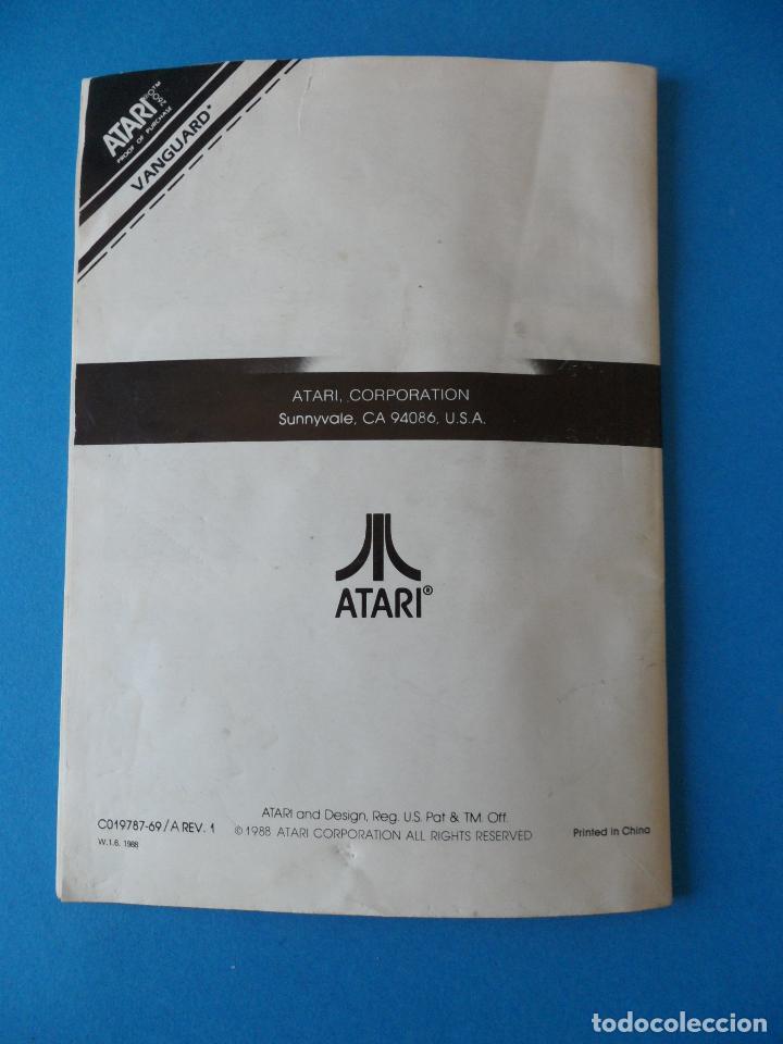 Videojuegos y Consolas: LIbrito Manual del Videojuego Vanguard - Atari 2600 - Foto 6 - 91759025