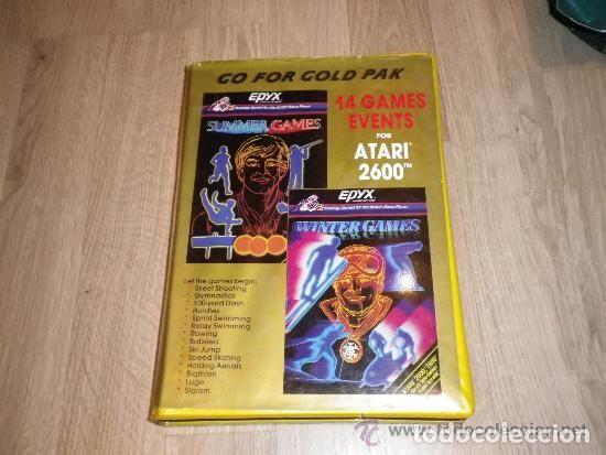 ATARI 2600 JUEGO GO FOR GOLD PACK (Juguetes - Videojuegos y Consolas - Atari)