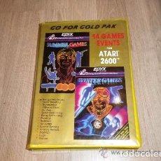 Videojuegos y Consolas: ATARI 2600 JUEGO GO FOR GOLD PACK. Lote 91796055