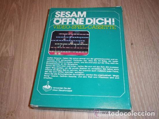 Videojuegos y Consolas: ATARI 2600 JUEGO SESAM OFFNE DICH! COMPLETO - Foto 2 - 92088550