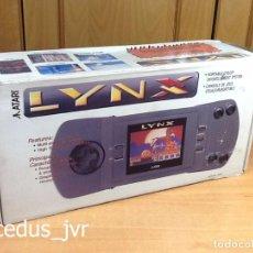 Videojuegos y Consolas: ATARI LYNX CONSOLA PORTÁTIL CON CAJA COMO NUEVA. Lote 94625511
