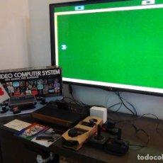 Videojuegos y Consolas: CONSOLA ATARI 2600 - ESPAÑOLA - FUNCIONANDO!!!! - VER VIDEO. Lote 94822863