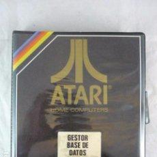 Videojuegos y Consolas: ATARI - GESTOR BASE DE DATOS UD-407 - UNIMPORT. Lote 96027371