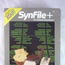 Videojuegos y Consolas: ATARI SYNFILE+ - SYNAPSE AX2031 - USA 1983 - SIN DISCO. Lote 96159999