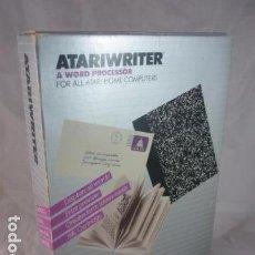 Videojuegos y Consolas: ATARI - ATARIWRITER - PROCESADOR DE TEXTO - RX8036 - USA 1982. Lote 96161091
