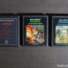 Videojuegos y Consolas: LOTE JUEGOS ATARI 2600 - PROBADOS. Lote 96857803