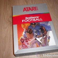 Videojuegos y Consolas: ATARI 2600 JUEGO REALSPORTS FOOTBALL NUEVO RARO !!!. Lote 97533235