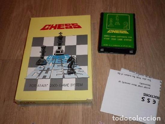 ATARI 2600 JUEGO CHESS (JUEGO PIRATA DE TAIWAN) (Juguetes - Videojuegos y Consolas - Atari)