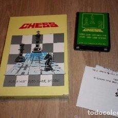 Videojuegos y Consolas: ATARI 2600 JUEGO CHESS (JUEGO PIRATA DE TAIWAN). Lote 98503199