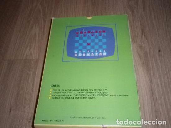 Videojuegos y Consolas: ATARI 2600 JUEGO CHESS (JUEGO PIRATA DE TAIWAN) - Foto 2 - 98503199