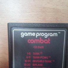 Videojuegos y Consolas: COMBAT - ATARI 2600. Lote 98762459