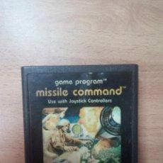 Videogiochi e Consoli: MISSILE COMMAND - ATARI 2600. Lote 98762507