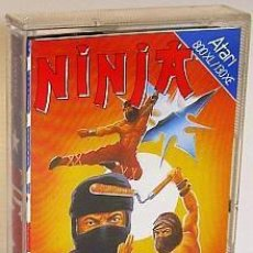 Videojuegos y Consolas: NINJA [SCULPTURED SOFTWARE] 1986 MASTERTRONIC ENTERTAIMENT USA [ATARI 600 / 800 / XL / XE]. Lote 99302579