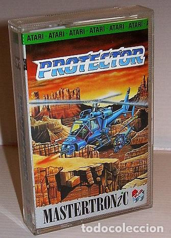 PROTECTOR [PAL DEVELOPMENTS] 1989 VIRGIN MASTERTRONIC PLUS [ATARI 600 / 800 / XL / XE] (Juguetes - Videojuegos y Consolas - Atari)