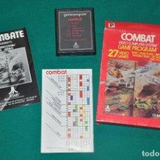 Videojuegos y Consolas: COMBAT CX 2601 PAL ATARI , JUEGO EN CAJA CON INSTRUCCIONES. Lote 100989083