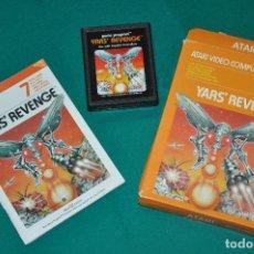 Videojuegos y Consolas: YAR´S REVENGE CX 2655 PAL ATARI , JUEGO EN CAJA CON INSTRUCCIONES. Lote 100990459
