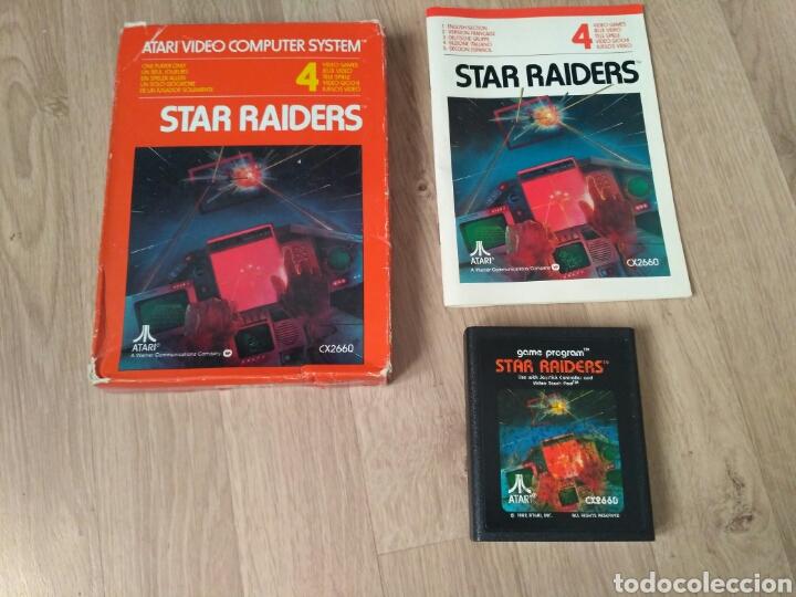 ATARI 2600 JUEGO STAR RAIDERS COMPLETO (Juguetes - Videojuegos y Consolas - Atari)
