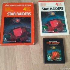 Videojuegos y Consolas: ATARI 2600 JUEGO STAR RAIDERS COMPLETO. Lote 43439189