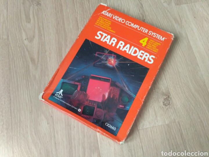 Videojuegos y Consolas: ATARI 2600 JUEGO STAR RAIDERS COMPLETO - Foto 2 - 43439189
