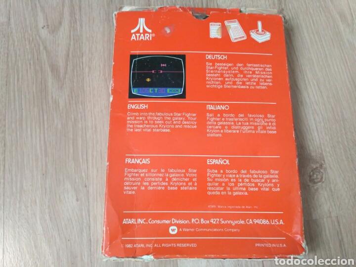 Videojuegos y Consolas: ATARI 2600 JUEGO STAR RAIDERS COMPLETO - Foto 3 - 43439189