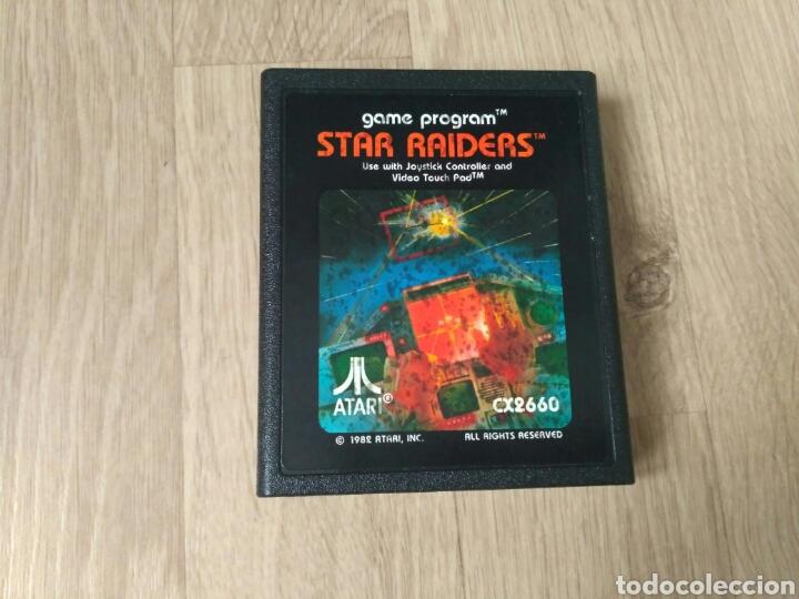 Videojuegos y Consolas: ATARI 2600 JUEGO STAR RAIDERS COMPLETO - Foto 5 - 43439189