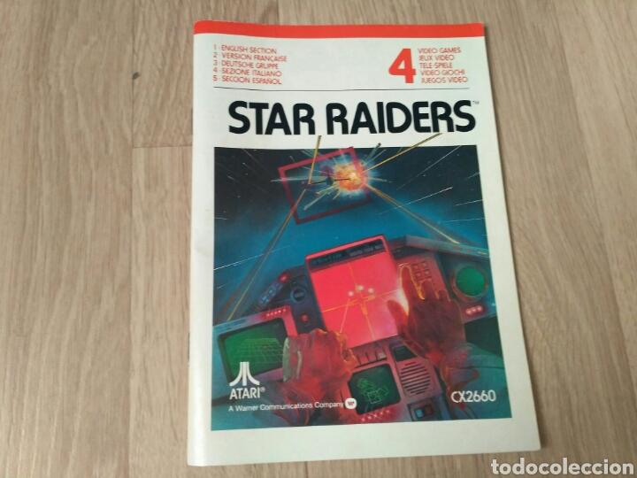 Videojuegos y Consolas: ATARI 2600 JUEGO STAR RAIDERS COMPLETO - Foto 6 - 43439189