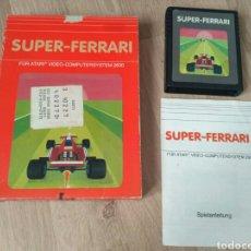 Videojuegos y Consolas: ATARI 2600 JUEGO SUPER-FERRARI COMPLETO. Lote 58642489