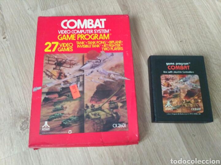 ATARI 2600 JUEGO COMBAT EN CAJA (Juguetes - Videojuegos y Consolas - Atari)