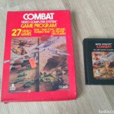 Videojuegos y Consolas: ATARI 2600 JUEGO COMBAT EN CAJA. Lote 57928419