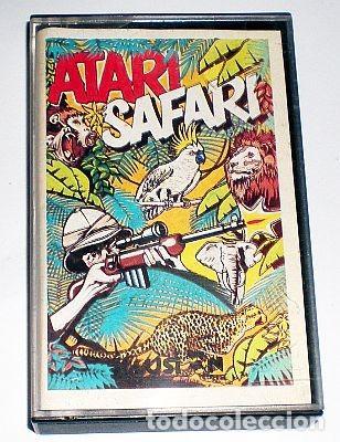 ATARI SAFARI [LINUS WRIGHT] 1985 ILUSION SOFTWARE LTD / SCORPIO GAMES WORLD [ATARI 600 800 XL XE] (Juguetes - Videojuegos y Consolas - Atari)