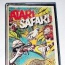 Videojuegos y Consolas: ATARI SAFARI [LINUS WRIGHT] 1985 ILUSION SOFTWARE LTD / SCORPIO GAMES WORLD [ATARI 600 800 XL XE]. Lote 101926455