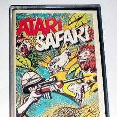 Videojuegos y Consolas: ATARI SAFARI [LINUS WRIGHT] 1985 ILUSION SOFTWARE LTD / SCORPIO GAMES WORLD [ATARI 600 800 XL XE]. Lote 101926455