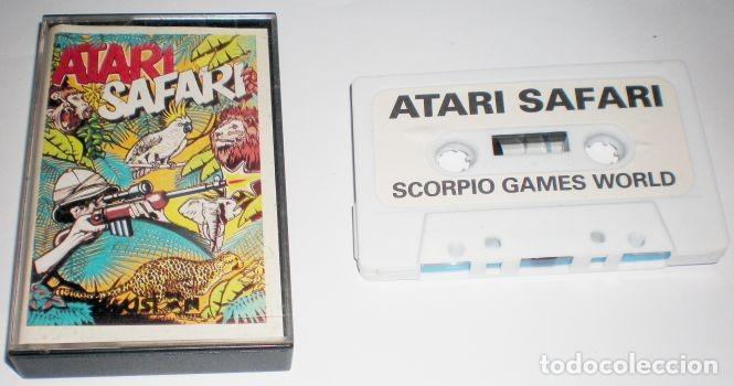 Videojuegos y Consolas: ATARI Safari [Linus Wright] 1985 Ilusion Software Ltd / Scorpio Games World [ATARI 600 800 XL XE] - Foto 3 - 101926455