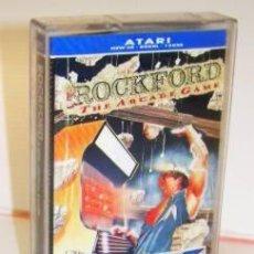 Videojuegos y Consolas: ROCKFORD [ICON DESIGN] 1986 + CRYSTAL RAIDERS [MAT.TRIMBY] 1986 MASTERTRONICS [ATARI 600/800/XL/XE]. Lote 101929523