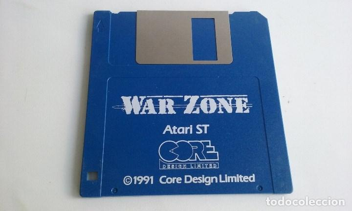 JUEGO PC PARA ATARI ST/WAR ZONE. (Juguetes - Videojuegos y Consolas - Atari)