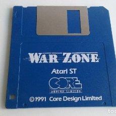 Videojuegos y Consolas: JUEGO PC PARA ATARI ST/WAR ZONE.. Lote 102615707