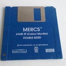 Videojuegos y Consolas: JUEGO PC PARA ATARI ST/MERCS.. Lote 102615819