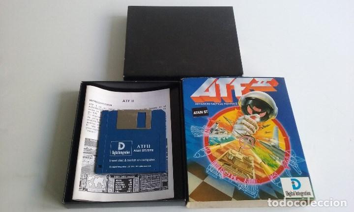 Videojuegos y Consolas: JUEGO PC PARA ATARI ST/AVANCED TACTICAL FIGHTER II/ATF II. - Foto 2 - 102627323