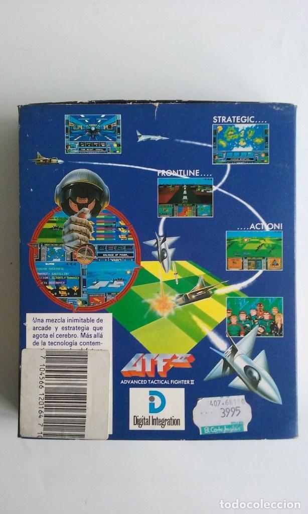 Videojuegos y Consolas: JUEGO PC PARA ATARI ST/AVANCED TACTICAL FIGHTER II/ATF II. - Foto 3 - 102627323