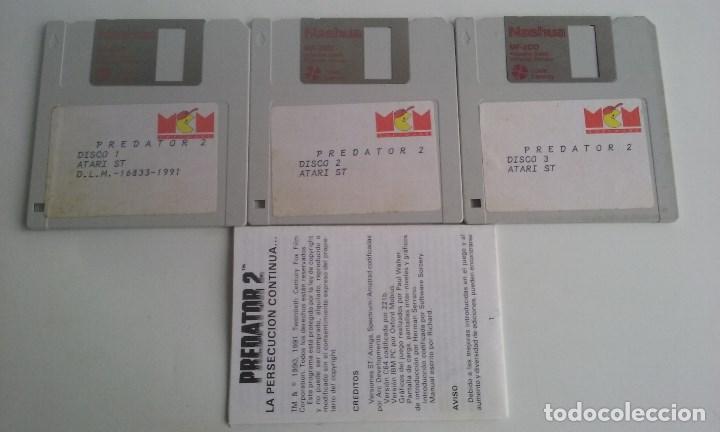 JUEGO PC PARA ATARI ST/ PREDATOR 2. (Juguetes - Videojuegos y Consolas - Atari)