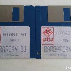 Videojuegos y Consolas: JUEGO PC PARA ATARI ST/.BARBARIAN II.. Lote 103401527
