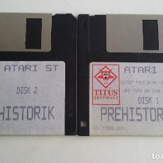 Videojuegos y Consolas: JUEGO PC PARA ATARI ST/.PREHISTORIK.. Lote 103401743