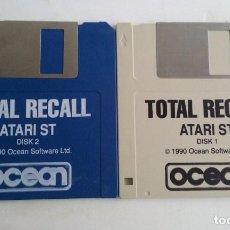 Videojuegos y Consolas: JUEGO PC PARA ATARI ST/TOTAL RECALL. Lote 103404563