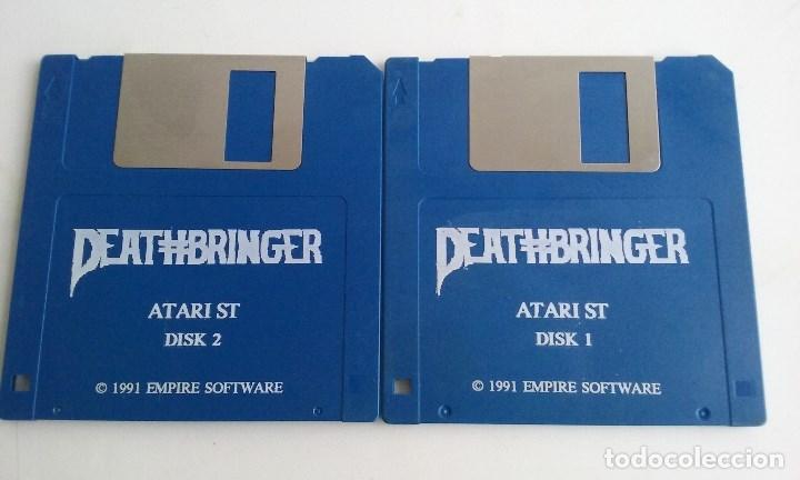 JUEGO PC PARA ATARI ST/DEATHBRINGER. (Juguetes - Videojuegos y Consolas - Atari)