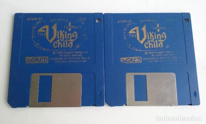 JUEGO PC PARA ATARI ST/THE VIKING CHILD. (Juguetes - Videojuegos y Consolas - Atari)