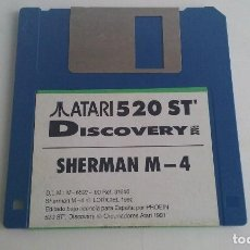 Videojuegos y Consolas: JUEGO PC PARA ATARI ST 520/SHERMAN M-4.. Lote 103405527