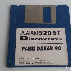 Videojuegos y Consolas: JUEGO PC PARA ATARI ST 520/PARIS DAKAR 90.. Lote 103405715