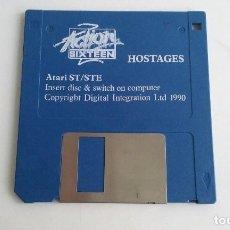Videojuegos y Consolas: JUEGO PC PARA ATARI ST/STE/HOSTAGES.. Lote 103406167